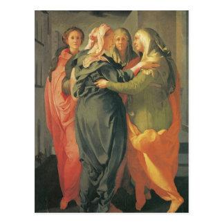 訪問- Jacopo Da Pontormo ポストカード