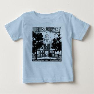 訪問Phila。 ペンシルバニアの鉄道乳児 ベビーTシャツ