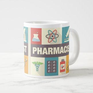 設計されている専門の薬剤師の画像的 ジャンボコーヒーマグカップ