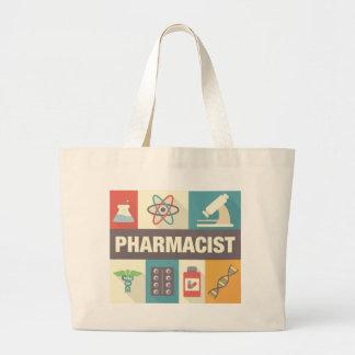 設計されている専門の薬剤師の画像的 ラージトートバッグ