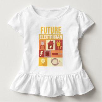 設計されている専門の電気技師の画像的 トドラーTシャツ