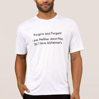 許し、忘れて下さい Tシャツ