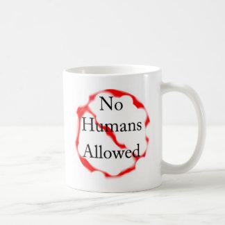 許可される人間無し コーヒーマグカップ