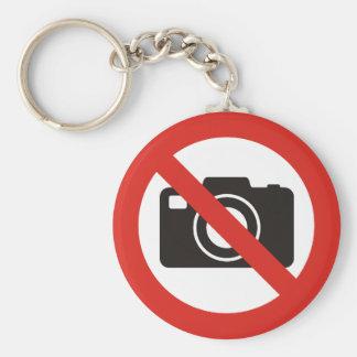 許可される写真無し キーホルダー