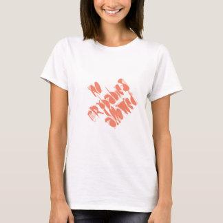 許可される泣き虫を言わないクールなTシャツ Tシャツ