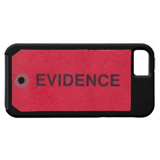 証拠のラベルのiPhone 5の場合 iPhone SE/5/5s ケース