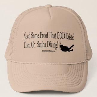 証拠の帽子を必要として下さい キャップ
