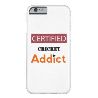 証明されたコオロギの常習者 BARELY THERE iPhone 6 ケース