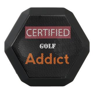 証明されたゴルフ常習者 ブラックBluetoothスピーカー