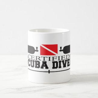 証明されたスキューバダイバーのマグ コーヒーマグカップ