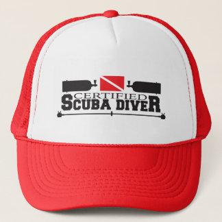 証明されたスキューバダイバーの帽子 キャップ