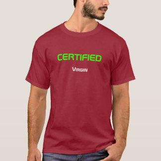 証明されたヴァージン Tシャツ