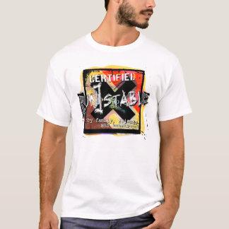 証明された不安定 Tシャツ