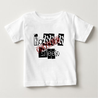 証明された恐怖ギークのベビーのワイシャツ ベビーTシャツ