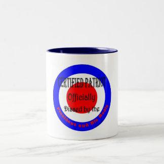 証明された愛国者 ツートーンマグカップ