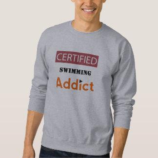 証明された水泳の常習者 スウェットシャツ