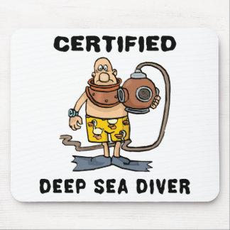 証明された深海のダイバーのギフト マウスパッド