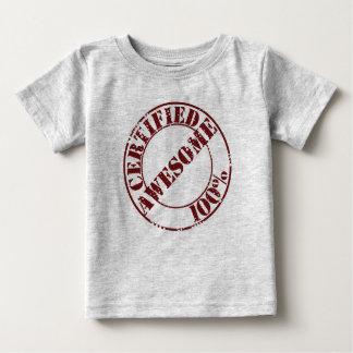 証明された素晴らしい幼児ワイシャツ ベビーTシャツ