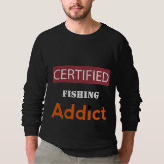 証明される常習者を採取します スウェットシャツ