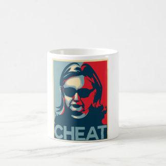 詐欺のアンチヒラリークリントンのマグ コーヒーマグカップ