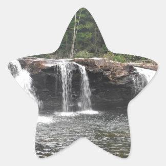 詐欺の滝 星シール