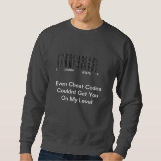 詐欺コード スウェットシャツ