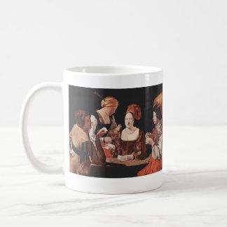 詐欺(ダイヤモンドのエースと) - 1635年 コーヒーマグカップ