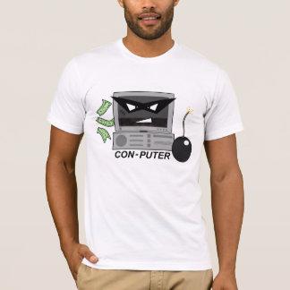 詐欺puterのワイシャツ tシャツ