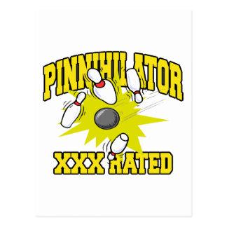 評価されるボーリングPinnihlator XXX ポストカード