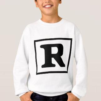 評価されるR スウェットシャツ