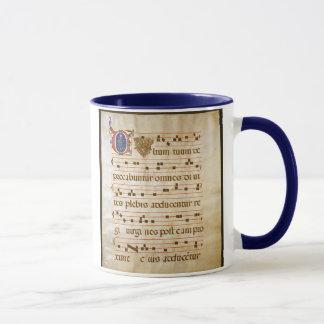 """詠唱manuscript.jpgのグレゴリオ暦の詠唱: 、""""CU… マグカップ"""