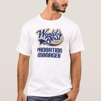 試験期間のマネージャー(世界のベスト)のためのギフトのアイディア Tシャツ