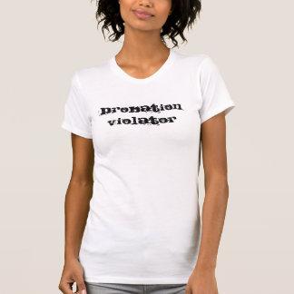 試験期間の妨害者 Tシャツ