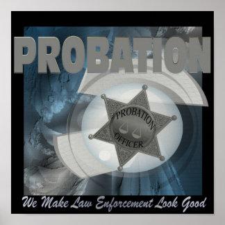 試験期間-私達は作ります法の執行を… (ポスター) ポスター