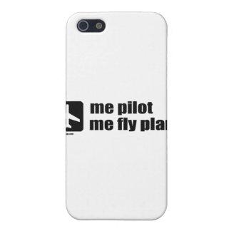 試験私私はえの飛行機 iPhone 5 CASE