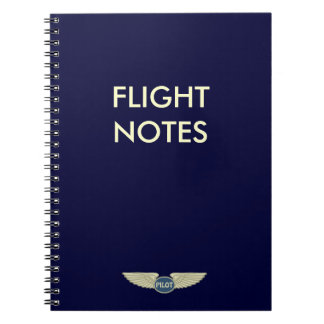 試験飛行ノート ノートブック