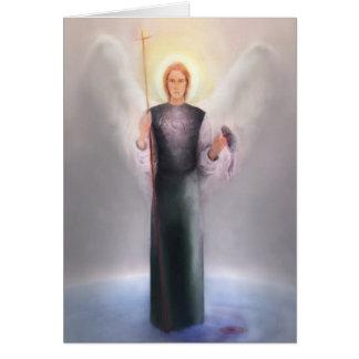 詩および聖なる書物、経典の聖者Raphael カード