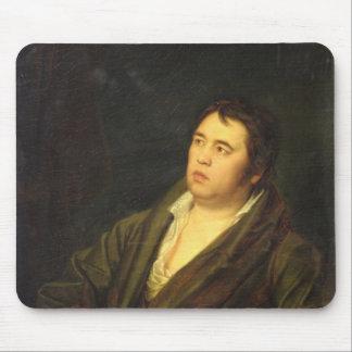 詩人のイヴァンA. Krylov 1812年ポートレート マウスパッド