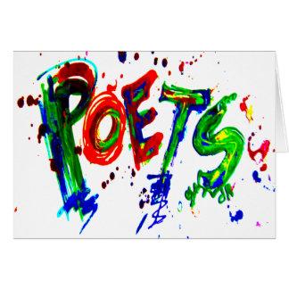 詩人 カード