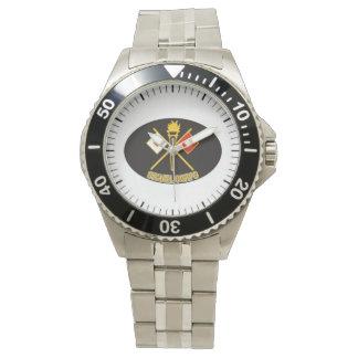 詩歌のロビーによる軍隊信号隊の腕時計 腕時計