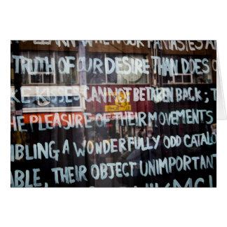 詩歌、ケンジントンの市場、トロント カード
