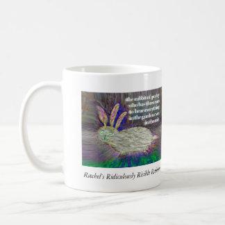 詩歌[マグ]のウサギ コーヒーマグカップ