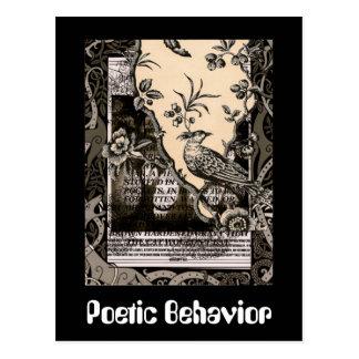 詩的な行動 ポストカード