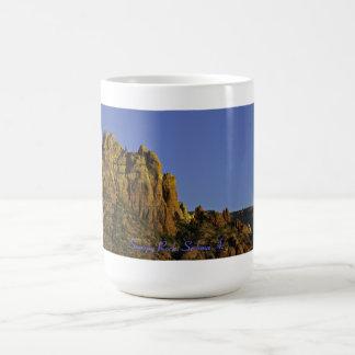 詮策好きな石セドナアリゾナ コーヒーマグカップ