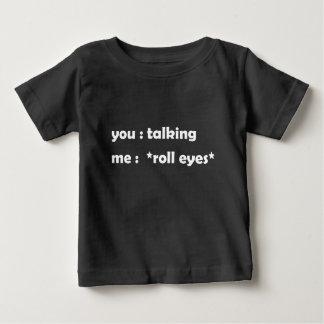 話すこと ベビーTシャツ