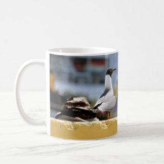 話すカモメ コーヒーマグカップ