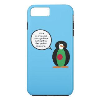 話すペンギンのパングラデシュ人の旗 iPhone 8 PLUS/7 PLUSケース