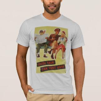 話の費用の生命Tシャツを緩めて下さい Tシャツ