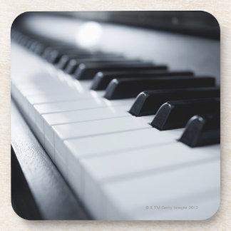 詳しいピアノ鍵 コースター