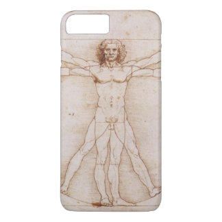 詳しいVitruvianの人レオナルド・ダ・ヴィンチ著 iPhone 8 Plus/7 Plusケース